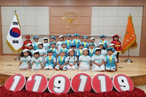 인제 예원어린이집 합창단,강원도119소방동요제에 참가!