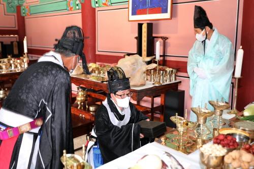 인제향교,2021년도 추기 석전대제 봉행